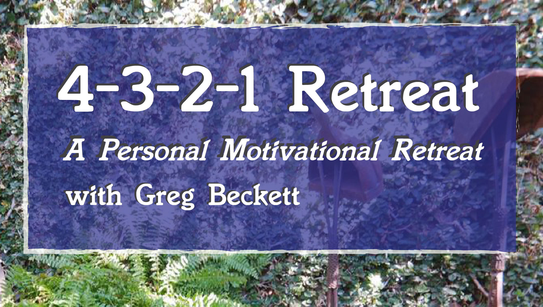 4-3-2-1 Retreat
